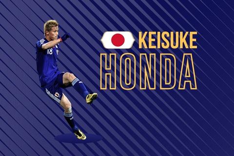 Pha luoi Senegal, Keisuke Honda lap ky luc chau A hinh anh
