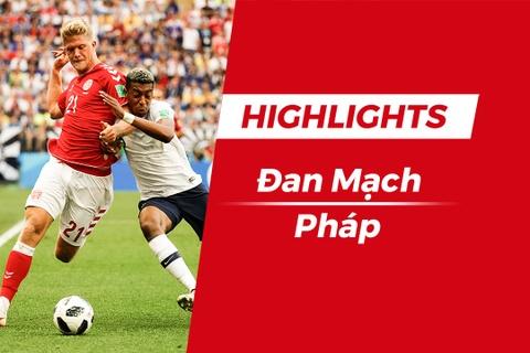 Highlights Dan Mach 0-0 Phap: Dat tay nhau vao vong 16 doi hinh anh