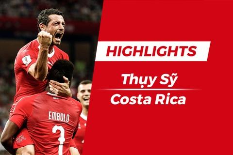 Highlights Thuy Sy vs Costa Rica: Kich tinh phut cuoi hinh anh