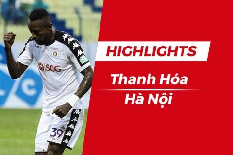 Highlights CLB Ha Noi 3-2 CLB Thanh Hoa: Quang Hai lap cong hinh anh