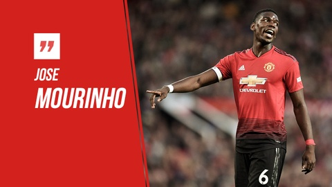 HLV Mourinho ngoi ca Pogba nhu 'con quai vat' sau tran thang Leicester hinh anh