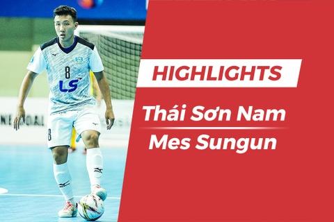 Highlights chung ket futsal CLB chau A: Thai Son Nam 2-4 Mes Sungun hinh anh