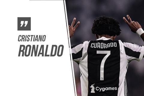 Ronaldo: 'Cuadrado vui ve nhuong toi so 7' hinh anh
