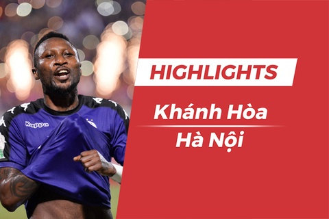 Highlights CLB Khanh Hoa - CLB Ha Noi: Samson tiep tuc ghi ban hinh anh
