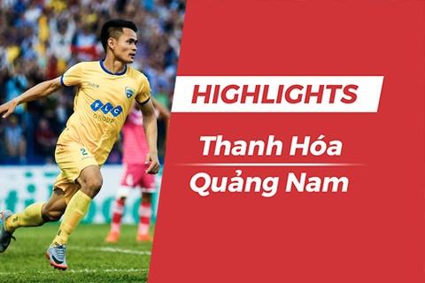Highlights chien thang '5 sao' CLB Thanh Hoa truoc CLB Quang Nam hinh anh