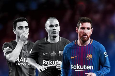Messi noi gi khi khong con Xavi va Iniesta ben canh? hinh anh