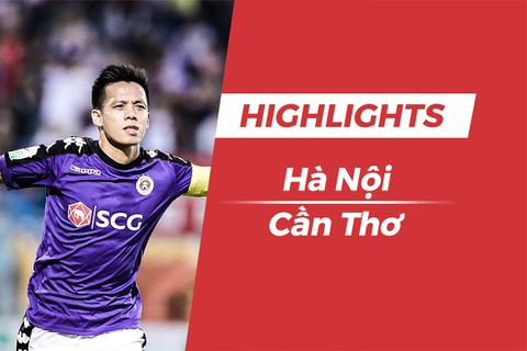 Highlights chien thang 3-0 cua CLB Ha Noi truoc Can Tho hinh anh