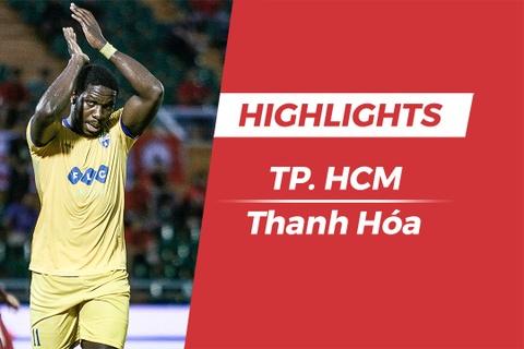 Highlights CLB Thanh Hoa vs CLB TP.HCM: Nguoi cu HAGL toa sang hinh anh