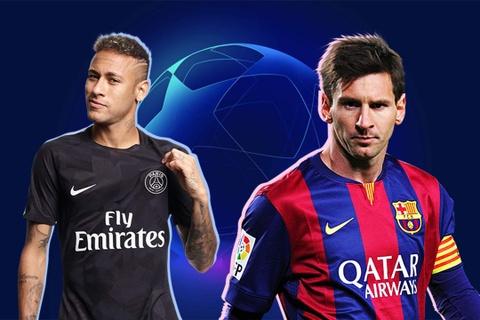 Neymar tai ngo Messi o doi hinh hay nhat luot 2 vong bang cup chau Au hinh anh