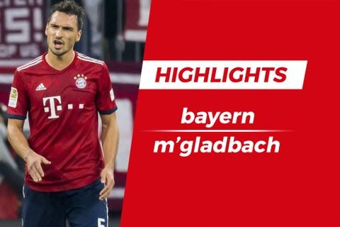 Highlights Bayern Munich 0-3 M'Gladbach hinh anh
