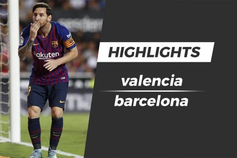 Highlights Barca mat ngoi dau bang sau tran hoa Valencia hinh anh