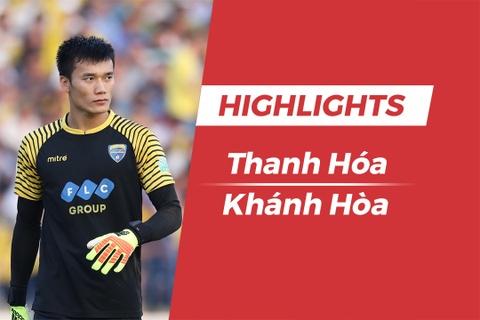 Highlights CLB Thanh Hoa gianh vi tri a quan sau tran thang Khanh Hoa hinh anh