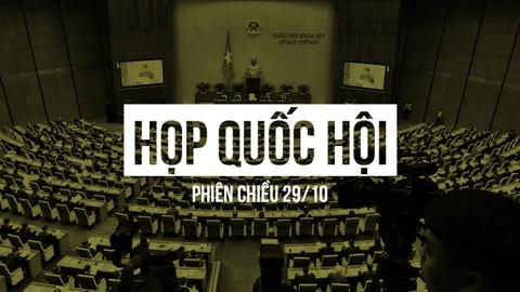 Truc tiep Quoc hoi thao luan ve ngan sach Nha nuoc chieu 29/10 hinh anh