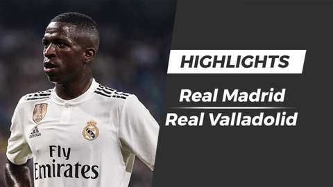 Highlights Real 2-0 Valladolid: Sao tre 18 tuoi ghi ban hinh anh