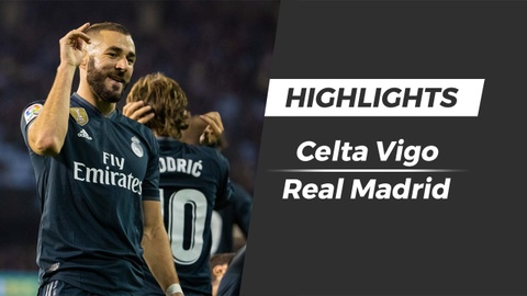 Highlights Celta Vigo 2-4 Real Madrid hinh anh