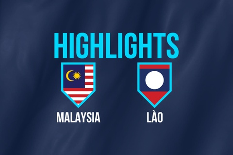 Highlights AFF Cup: DT Malaysia 3-1 DT Lao hinh anh