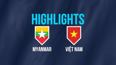 Highlights AFF Cup: DT Myanmar 0-0 DT Viet Nam hinh anh