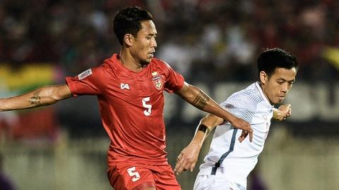 Chấm điểm Myanmar vs Việt Nam: Đội trưởng Văn Quyết gây thất vọng