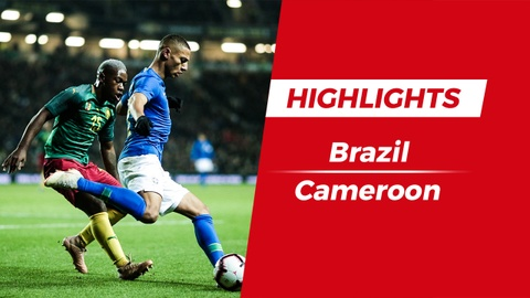 Highlights Brazil 1-0 Cameroon: 'Ke dong the' len tieng hinh anh