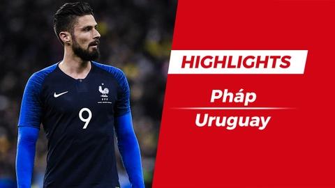 Highlights Phap 1-0 Uruguay: Giroud toa sang hinh anh