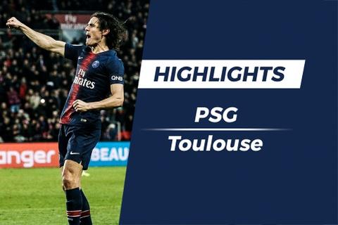 Highlights PSG 1-0 Toulouse: Cavani toa sang hinh anh