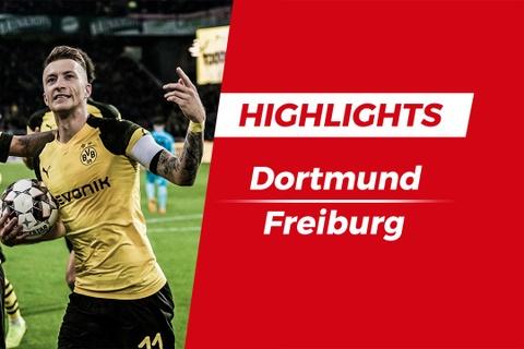Highlights Dortmund vs Freiburg: Macro Reus ghi ban hinh anh