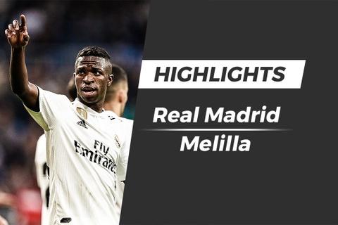 Highlights Real 6-1 Melilla: 'Danh tennis' o Bernabeu hinh anh