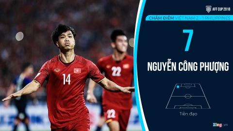 Cham diem Viet Nam vs Philippines: Quang Hai ruc sang hinh anh 14