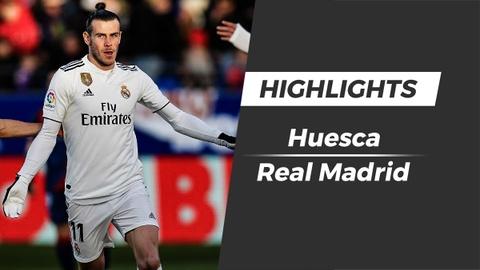 Highlights Huesca 0-1 Real: Gareth Bale toa sang hinh anh