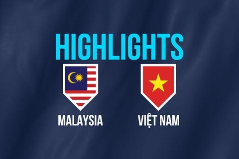 Highlights chung ket AFF Cup: Malaysia 2-2 Viet Nam hinh anh