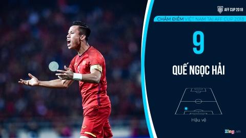 Cham diem tuyen Viet Nam tai AFF Cup: Quang Hai, Dinh Trong hay nhat hinh anh 4