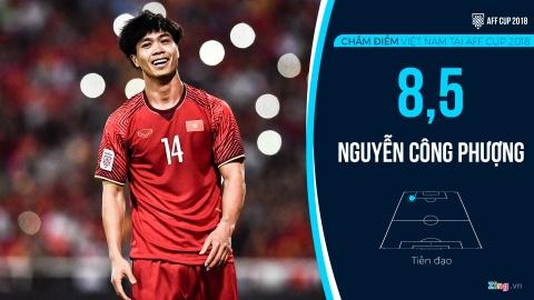 Cham diem tuyen Viet Nam tai AFF Cup: Quang Hai, Dinh Trong hay nhat hinh anh 13