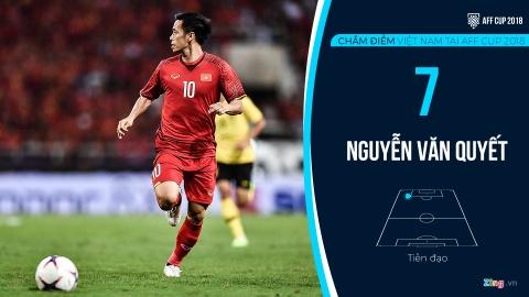 Cham diem tuyen Viet Nam tai AFF Cup: Quang Hai, Dinh Trong hay nhat hinh anh 14