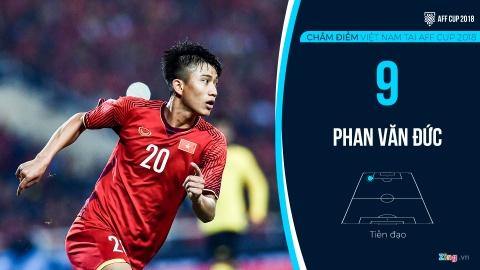 Cham diem tuyen Viet Nam tai AFF Cup: Quang Hai, Dinh Trong hay nhat hinh anh 16