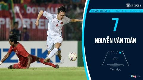 Cham diem tuyen Viet Nam tai AFF Cup: Quang Hai, Dinh Trong hay nhat hinh anh 17