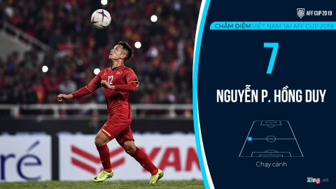 Cham diem tuyen Viet Nam tai AFF Cup: Quang Hai, Dinh Trong hay nhat hinh anh 18