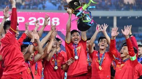 Tuyen Viet Nam vo dich AFF Cup va trieu con tim chung nhip dap hinh anh