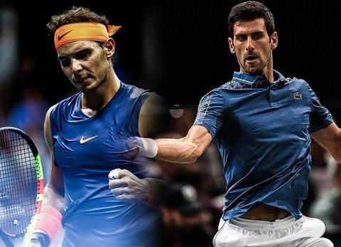 Nhung pha bong an tuong giua Nadal va Djokovic hinh anh