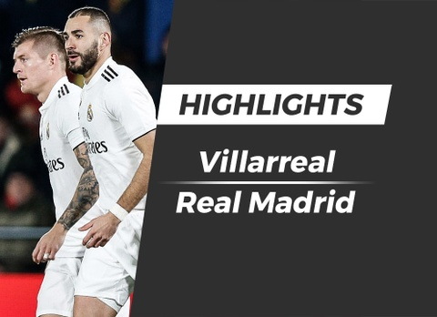Highlights Villarreal 2-2 Real Madrid hinh anh