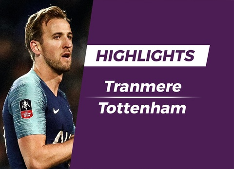 Highlights Tranmere 0-7 Tottenham hinh anh