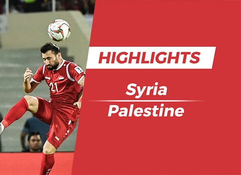 Highlights Asian Cup 2019: Syria 0-0 Palestine hinh anh