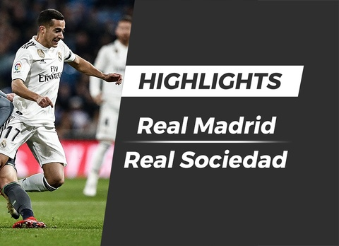 Highlights Real Madrid 0-2 Real Sociedad hinh anh