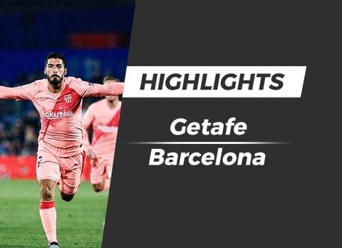 Highlights Getafe 1-2 Barcelona hinh anh