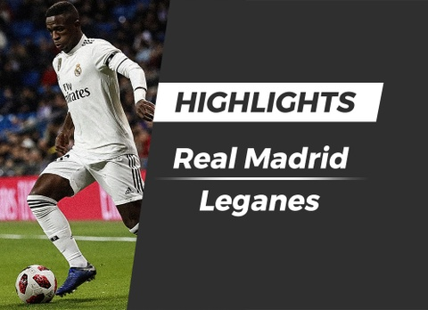 Highlights Real Madrid 3-0 Leganes hinh anh