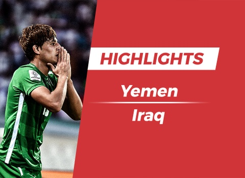 Highlights Asian Cup 2019: Yemen 0-3 Iraq hinh anh