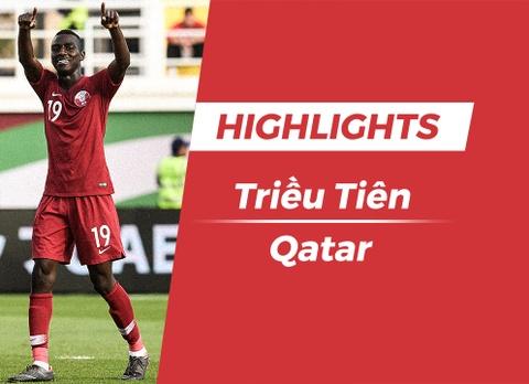 Highlights Asian Cup 2019: Trieu Tien 0-6 Qatar hinh anh