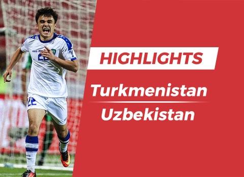 Highlights Asian Cup 2019: Turkmenistan 0-4 Uzbekistan hinh anh