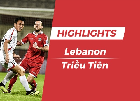 Highlights Asian Cup 2019: Lebanon 4-1 Trieu Tien hinh anh
