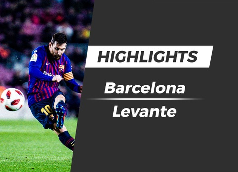 Highlights Barcelona 3-0 Levante hinh anh