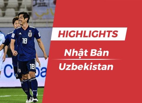 Highlights Asian Cup 2019: Nhat Ban 2-1 Uzbekistan hinh anh